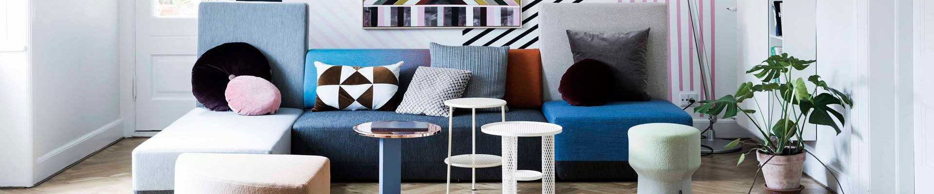 Ausdrucksstarke Farben in Ihrem Interieur