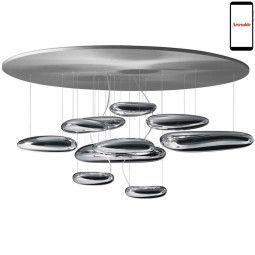 Artemide Mercury Soffitto Deckenleuchte LED dimmbar via Smartphone