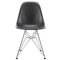 Vitra Eames DSR Fiberglass Stuhl mit verchromtem Untergestell