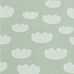Ferm Living Cloud Tapete mint