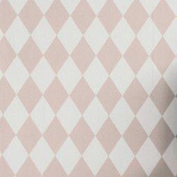 Ferm Living Harlequin Tapete Rosa