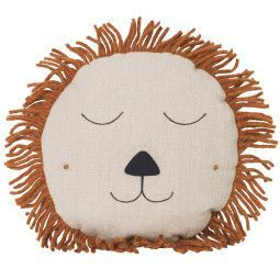 Ferm Living Safari Lion Kissen