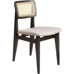 Gubi C-Chair Stuhl mit Sitzkissen