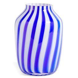 Hay Juice Vase High Blau