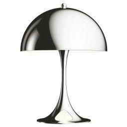 Louis Poulsen Panthella Mini Tischleuchte LED Chrom