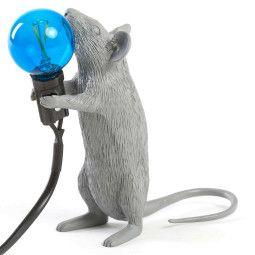 Seletti Mouse Lamp Step Tischleuchte