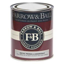 Farrow & Ball Primer und Undercoat 750ml Metall drinnen und draußen, weiße und helle Töne