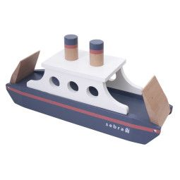 Sebra Holzboot Spielzeug