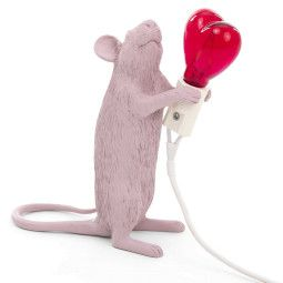 Seletti Mouse Lamp Standing Valentin Tischleuchte