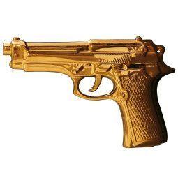 Seletti My Gun Gold Edition Wohnaccessoire