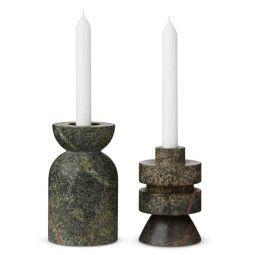 Tom Dixon Rock Candle Medium Kerzenständer