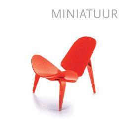 Vitra 3-benet Skalstol Miniatur