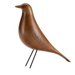 Vitra Eames House Bird Wohndekoration Nussbaum