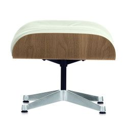 Vitra Ottoman für Lounge Chair Weiß