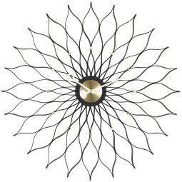 Vitra Sunflower Uhr Schwarz Collection